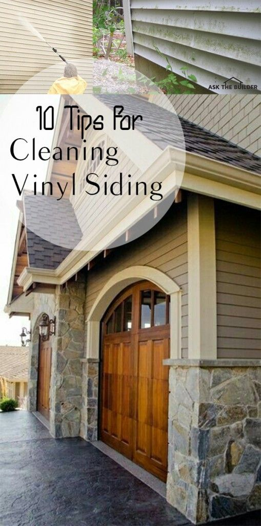25 Best Ideas About Cleaning Vinyl Siding On Pinterest