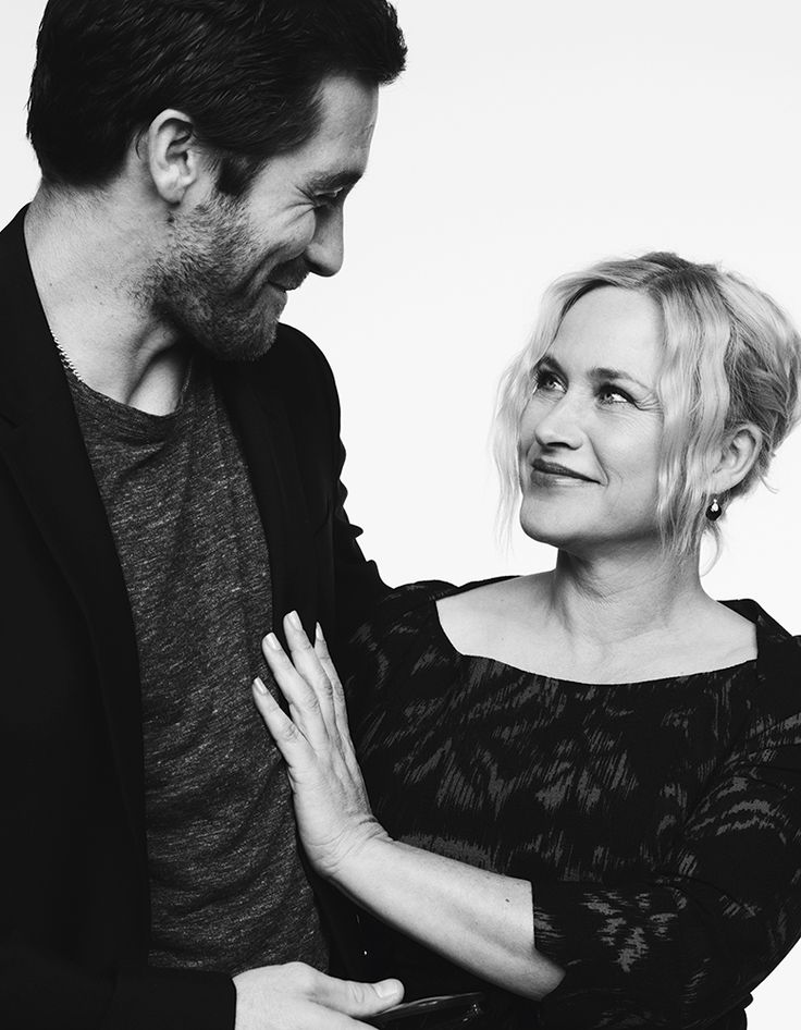 Jake Gyllenhaal and Patricia Arquette, by Ben Hassett (2014)