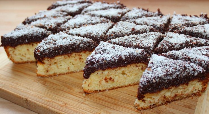 Csokis-kókuszos piskóta recept