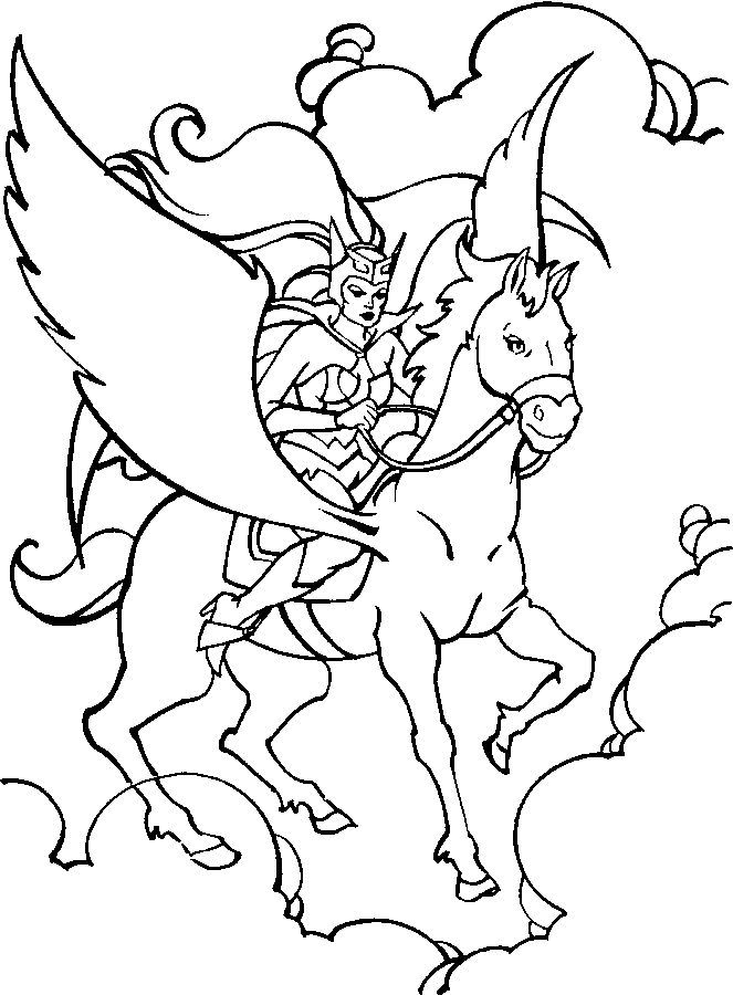 77 best Crafty (80's She-Ra) Coloring images on Pinterest ...
