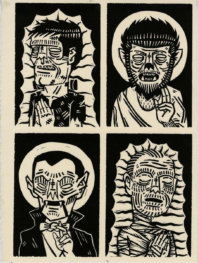 Printmaking - Iain Burke