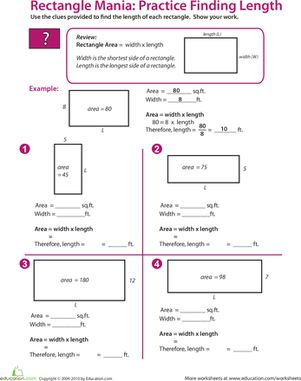 17 Best images about 5th math perimeter area volume on Pinterest ...