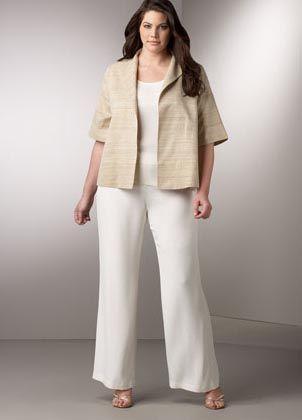 Moda Estilo Y Distinción Para Gorditas: Sacos y Pantalones Talles Especiales.                                                                                                                                                                                 Más