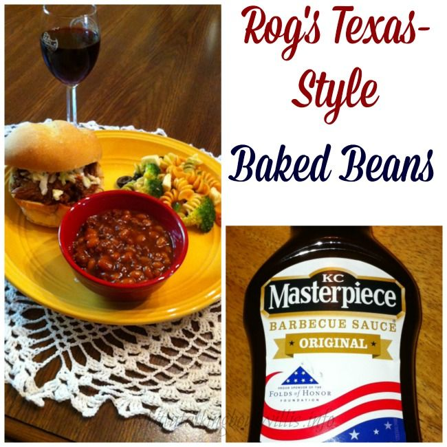Rog's Texas-Style Baked Beans | A little on the side... | Pinterest