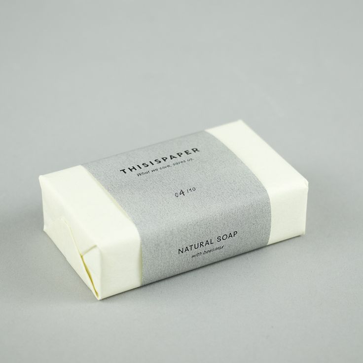 Beeswax Natural Soap | This is Paper