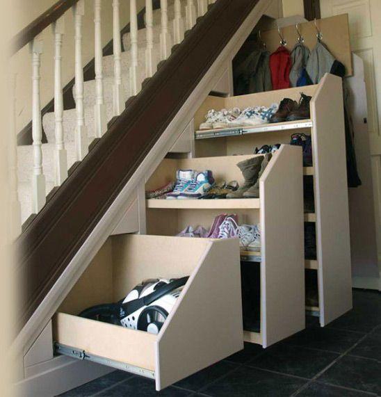 приехали отдых удобное хранение обуви под лестницей картинки порезанные