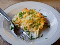 Grilled Cheesy Potato Packet recipe from Betty Crocker