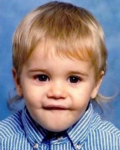 This is really old! like at least 15 years old. prolly older. Baby Justin is adorablee!(;