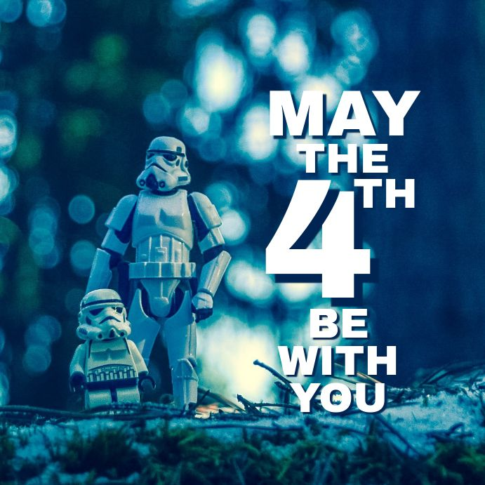 Star Wars Day In 2020 Club Poster Star Wars Poster Template