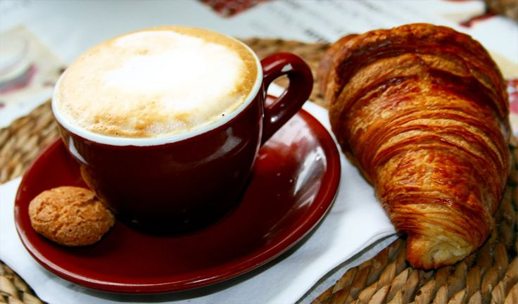Can't go wrong with an cappuccino and a pastry!