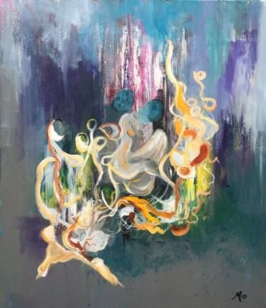 All together by Mo Tuncay #painter #painting #artist #art