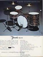 Vintage Yamaha Drum History