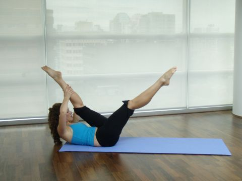 Intermediate Classical Pilates Matwork Pilates - good pace and challenge