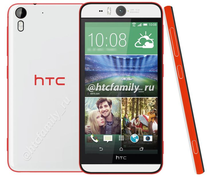 HTC Desire Eye ,equipped with a 13-megapixel front-facing camera