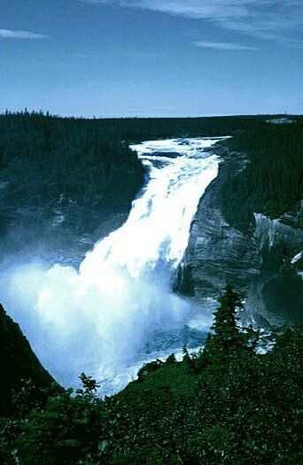 Churchill Falls, Newfoundland & Labrador. Been there. Would love to go back for another snowball fight in July