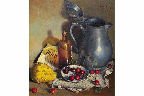 Klaas Zwaan (1922-1998) | Schilderijen Boerderij De Wiek