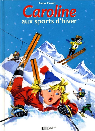 Caroline - Caroline aux sports d'hiver