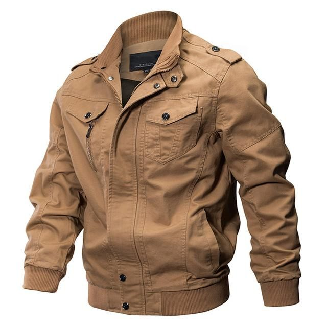 Military Jacket-Men s Winter Thermal Cotton Jacket   Klamotten   Bekleidung,  Jacken und Anziehsachen 3f8f4c9605
