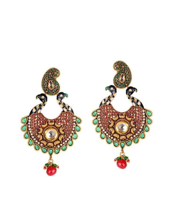 Anjali Jain -- Beautiful Peacock Earring