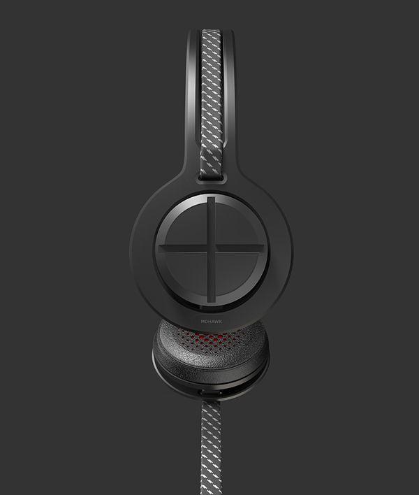 Mohawk headphones by Joe Bowers, via Behance