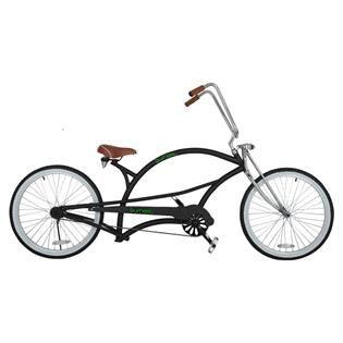Bicicleta Bike BURNETT Aro26 Tras PL-BC 16 CRUISER Preto - Paquetá Esportes