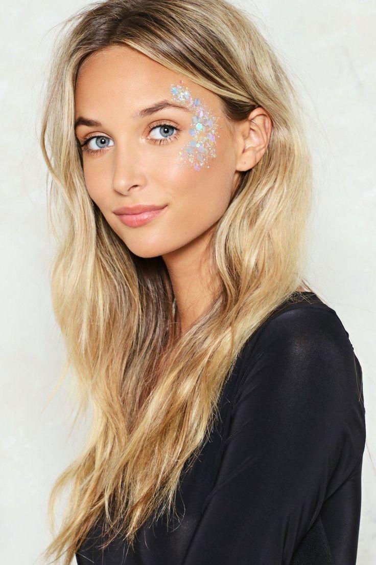 make up paillettes