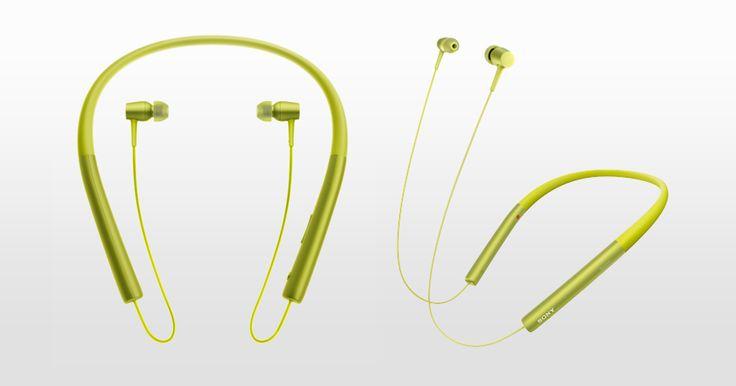 h.ear in Wireless — stylowe, douszne słuchawki bezprzewodowe z łączem Bluetooth i pałąkiem na szyję (MDR-EX750BT)
