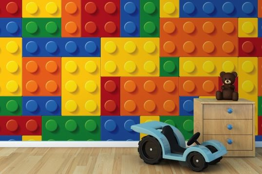 Colourful Lego Wallpaper Wall Mural | MuralsWallpaper.co.uk Just need to figure this out in dollars.