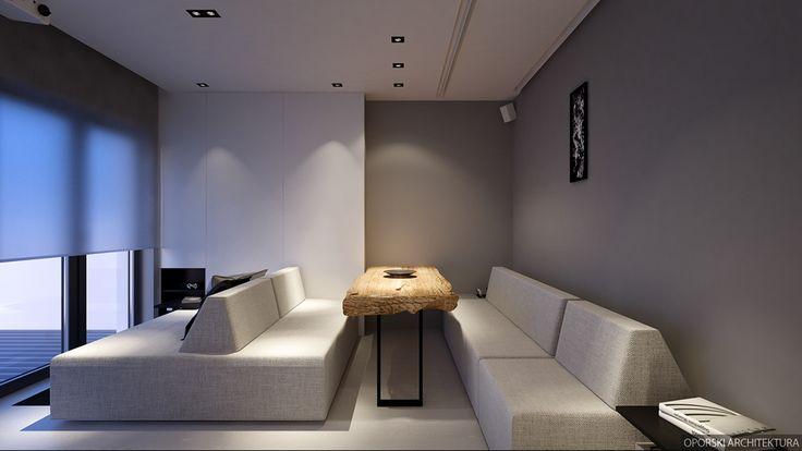"""查看此 @Behance 项目:""""Apartament in Warsaw 37 sqm""""https://www.behance.net/gallery/41854765/Apartament-in-Warsaw-37-sqm"""