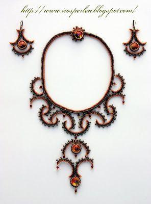 Irosperlen: Zincirler / Ожерелье
