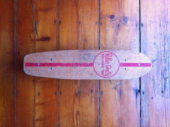 VINTAGE SKATEBOARD 1960s NASH Fifteen Toes By VintageSkateboards EUR10000