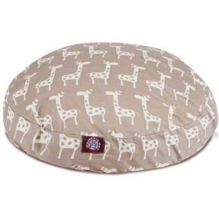 Stretch Large Round Dog Bed