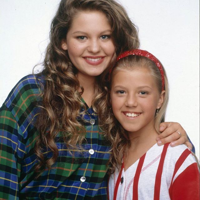 Full House DJ & Stephanie Tanner