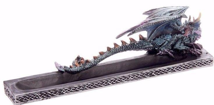 Dark Legends Ice Dragon Incense burner, Ash catcher !FREE UK P&P!!FREE Incense!