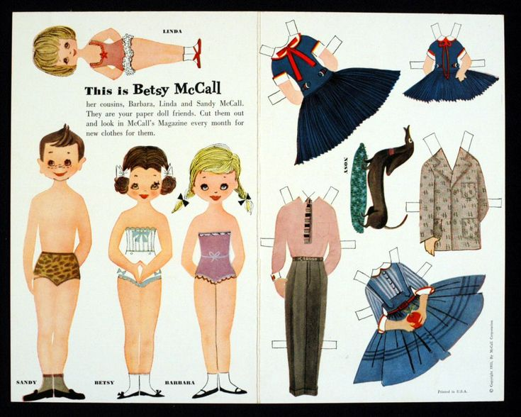 78.14115: This Is Betsy McCall | paper doll | Paper Dolls | Dolls | National Museum of Play Online Collections | The Strong