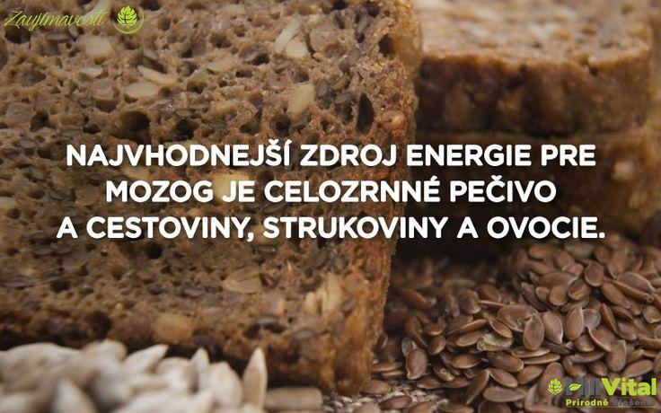 Zaujímavosť na dnešné pondelkové ráno sa bude týkať zdroju energie. Vedeli ste, že toto sú najlepšie zdroje pre náš mozog? 😮