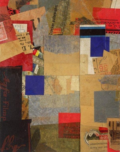 Kurt Schwitters, Elements of Visual Thinking