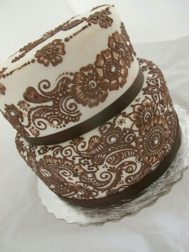 Mehndi Cake Uk : Mehndi cake imgkid the image kid has it