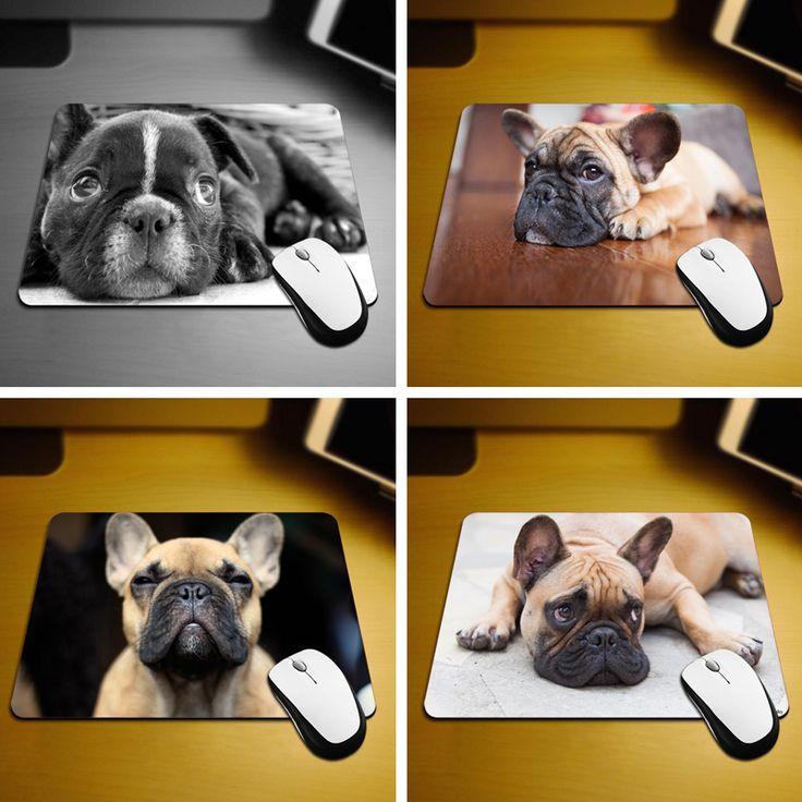 MaiYaCa Bulldog Mouse Pad Size 18*22cm and 25*29cm