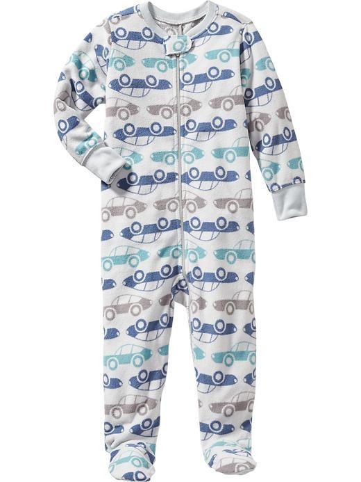 Printed Performance Fleece Sleeper for Baby