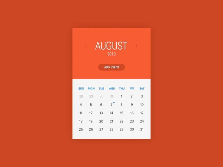 Calendar Rebound *Animated by Austin Neill