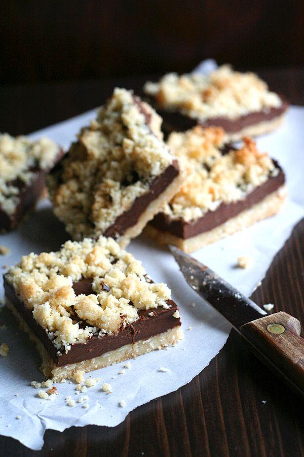 Healthy Grain-Free Fudge Bars