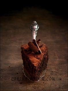 Шоколадный торт с ликером Амеретто