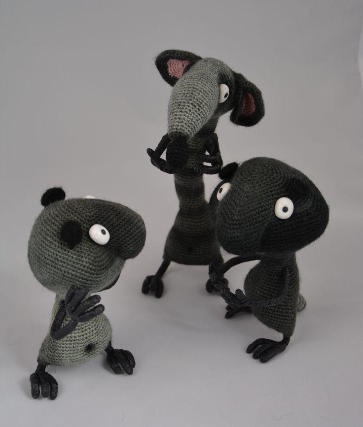 Crochet amigurumi LittleOwlsHut