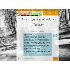 The Break-Up Text - Personalized Break-Up Text Messaging Service