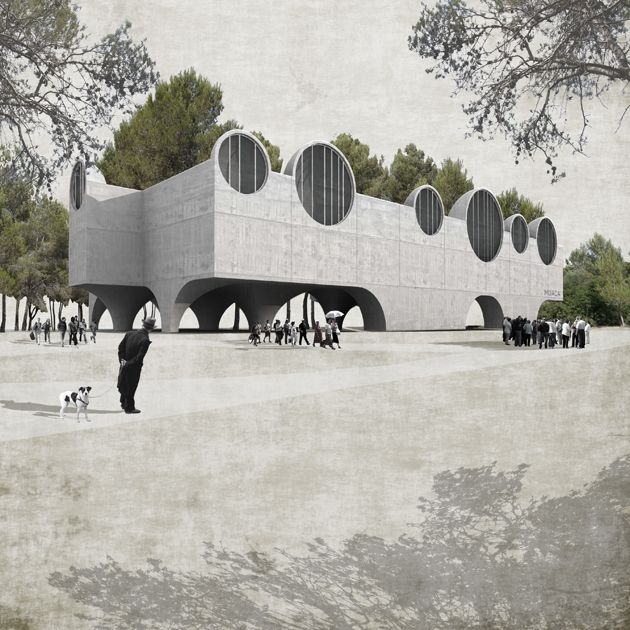 http://www.english.tedaarquitectes.com/index.php?/projects/2010-archaeological-museum-of-calvia/