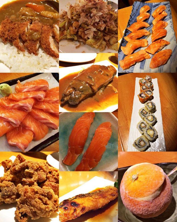 The best sushi in town  #sushi #sushimasa #salmon #sashimi #aburi #teriyaki #chickenkatsucurry #california #ebitempura #orangeicecream #yum #yummy #delish #delicious #thebestsushi #japanesefood #food #foodie #foodporn #foodstagram #instafood #sushilover #sushiaddict by lydiaelizabeth88
