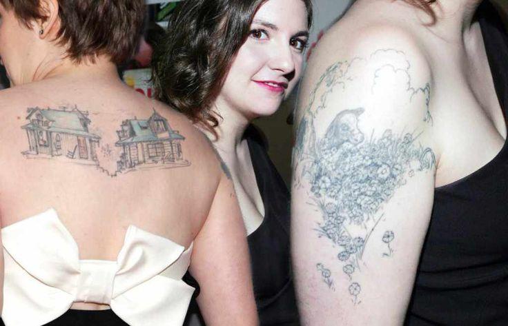 Lena Dunham's tattoos