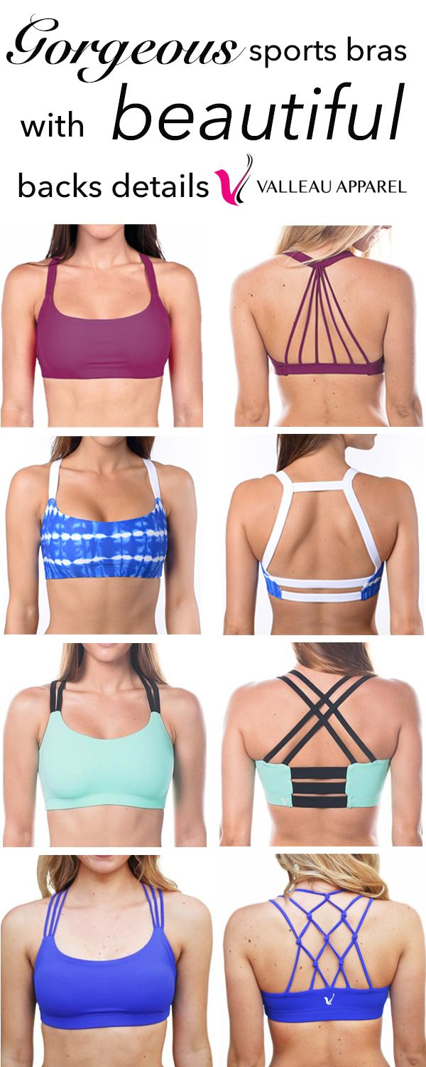 This site has SOOO many cute sports bras! Made in the USA and reasonably priced! I need them all!