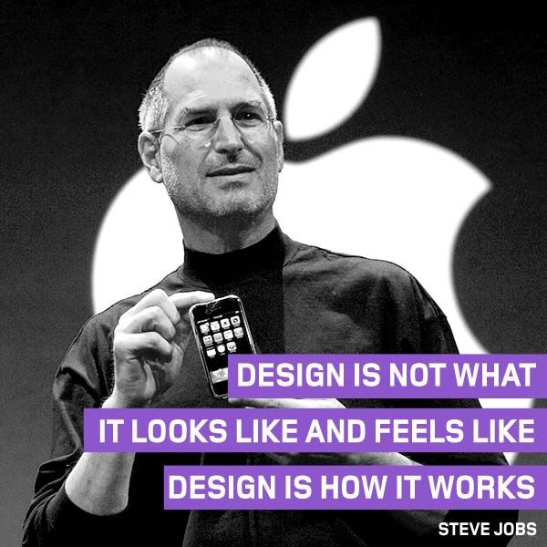 The #ThoughtOfTheWeek for June 1 2015 is from Steve Jobs